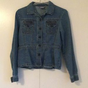 Jackets & Blazers - Anchor blue Jean Jacket
